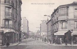 PARIS 15° Photo GONDRY N° 1593 Angle Animé Rue LABROUSTE Rue De VOUILLE  Cafés JEU POULE Au GIBIER - Arrondissement: 15