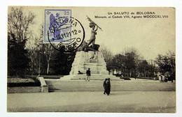Carte Postale 1921 Bologna Pour Orleans, Affr 25 C Vittorio Veneto 1918 - Storia Postale