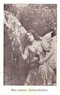 CIRQUE / ZIRKUS / CIRCUS : MISS JEANNE - PARFORCE-REITERIN : EQUESTRIAN ACROBATICS ~ 1910 - '915 (af738) - Circo
