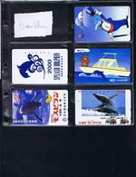 Télécartes Carte Telephonique Phonecard Japon Japan  Theme Dauphin Pingouin Loutre  39 Cartes - Dolphins
