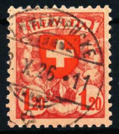 SCHWEIZ 1924 Nr 195x Gestempelt X4C65E6 - Usati