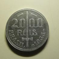Brazil 2000 Reis 1935 Silver - Brasile