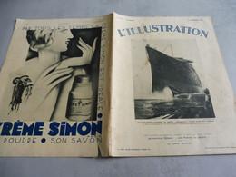 L'ILLUSTRATION 5 NOVEMBRE 1932-NOUVEAUX FAUTEUILS DU CONSEIL DES MINISTRES ELYSÉE-ISLANDE ILES FEREO-PAQUEBOT NORMANDIE- - Journaux - Quotidiens