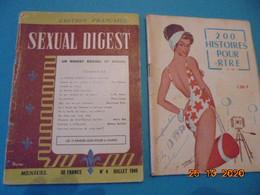 Sexual Digest N° 4 1949 .Les 12 Femmes Que Hitler A Aimées Et 12 Autres Articles.Ed. Lys Rouge Paris.+ 200 Histoires Pou - Culture