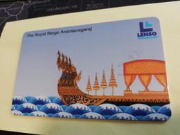 THAILAND  CHIPCARD 250 BATH THE ROYAL BARGE ANANTANAGRAJ  LENSO    **3615** - Tailandia