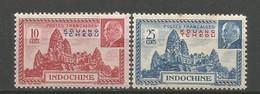 Timbre Colonie Française Kouang-Tcheou Neuf * N 138/139 - Nuovi