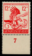 3. REICH 1944 Nr 906 Postfrisch URA X854B82 - Nuovi