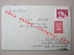 Croatia, NDH, WW2 / Envelope With Letter, Content - CENZURA BR. 23 ( 1944 ) / From Zagreb To Zemun / Description ... - Croatia