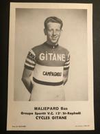 Bas Maliepaard - Gitane Campagnolo - 1964 - Carte Card - Cyclists - Cyclisme - Ciclismo -wielrennen - Cycling
