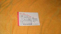 CARTE PUBLICITAIRE DATE ?..AUX DEUX CANARDS BAR RESTAURANT PARIS VIe.. - Advertising