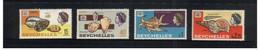 (Stamps 26-10-2020) Seychelles Island Stamps (4 Shells) - Seychellen (1976-...)