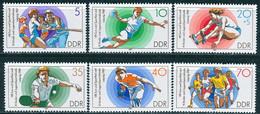 DDR - Mi 3111 / 3116 - ** Postfrisch (B) - Kinder Und Jugendspartakiade 87 - Neufs