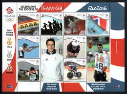 ISLE OF MAN 2016 Team GB Rio 2016 Olympics: Souvenir Sheet UM/MNH - Man (Ile De)