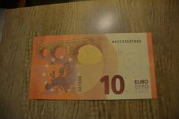 "10 EURO ""Germany "" DRAGHI W 002 E5 - WA2233687888 - FDS - UNC - NEUF - EURO"
