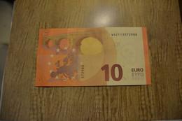 "10 EURO ""Germany "" DRAGHI W 002 C5 - WA2113572988 - FDS - UNC - NEUF - EURO"