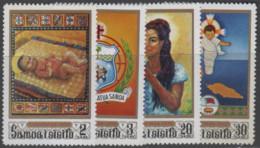 Samoa - #333-36(4) - MNH - Samoa