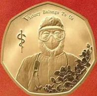 2020 Niue Commemorative Copper Coin For Fighting COVID-19 - Niue