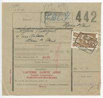 Belgium 1952 Parcel Post Card Chimay To Haine-St.-Pierre, Scott Q333 - Railway