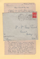 Poste  Aux Armees - Brisach - 1954 - 1921-1960: Période Moderne