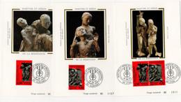Carte Maximum 1993 - Héros De La Résistance - YT 2813 - 2814 & P2813A -  Paris - 1990-99