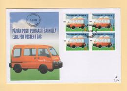 Finlande - 1999 - Vehicule De La Poste - Cartas