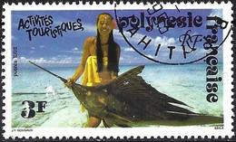 French Polynesia 1992 - Mi 601 - YT 401 ( Fishing : Wordfish ) - Pesci
