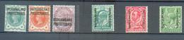 A 299 - BECHUALAND - YT 15-16-17 */ 23-29 A * / 39 * - 1885-1964 Protectoraat Van Bechuanaland