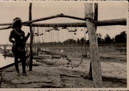CONGO BELGE......CPSM GRAND FORMAT ANIMEE - Belgian Congo - Other