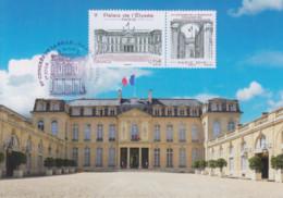 Carte  Maximum  1er Jour   FRANCE   Congrés  Des  Associations  Philatéliques   Palais  De  L' Elysée    2018 - 2010-...
