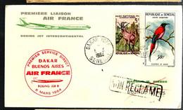 38635 - Vol DAKAR  - BUENOS AIRES - Senegal (1960-...)