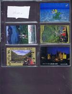 Télécartes Carte Telephonique Phonecard Japon Japan Theme Dore  11 Cartes - Telefoonkaarten