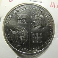 Portugal 200 Escudos 1994 Tratado De Tordesilhas - Portugal