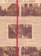 Orig. Knipsel Coupure Tijdschrift Magazine - Gaasbeek - Viering 50 Jaar Veldwachter Felix Keymolen - 1926 - Ohne Zuordnung