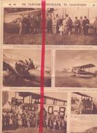 Orig. Knipsel Coupure Tijdschrift Magazine - Oostende - Vliegdemonstratie  - 1926 - Unclassified