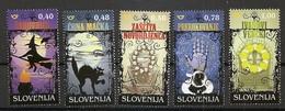 SLOVENIA 2018,POPULAR SUPERSTITION AND MAGIC IN SLOVENIA ,MNH - Slovenia
