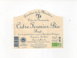 Cidre Domaine De La Minotiere - Labels