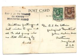 Ron001 / NORD RHODESIEN - Bulawayo Nach USA 1944 - Northern Rhodesia (...-1963)