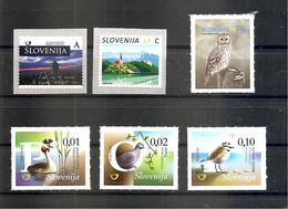 SLOVENIA 2018,FAUNA ,BIRDS,,REPRINT 2018 COMPLETE,,MNH - Slovenia