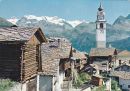 (L465) - ANTAGNOD (Valle D'Aosta) - Alcuni Rascards, Costruzioni Tipiche Della Val D'Ayas - Aosta