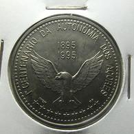 Portugal 100 Escudos 1995 1º Centenário Da Autonomia Dos Açores - Portugal