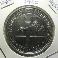 Portugal 100 Escudos 1990 Restauração Da Independência - Portugal