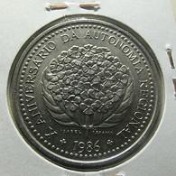 Portugal 100 Escudos 1986 X Aniversário Da Autonomia Regional - Portugal