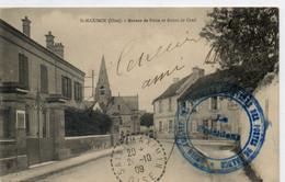 60  St MAXIMIN      Bureau De Poste Et Route De Creil - Otros Municipios