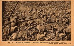 Bataille De Guinegate.  Bas-relief Du Tombeau De Maximilien à Inspruck - Storia