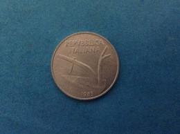 1985 ITALIA REPUBBLICA ITALY COIN MONETA 10 LIRE SPIGHE FDC UNC DA ROTOLINO - 10 Lire