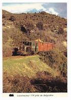 Haute Corse Entre Ponté Leccia & Calvi Près De BELGODERE Train Locotracteur 114 Wagons Couverts En 04/1979 VOIR DOS - Calvi