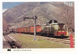 Haute Corse Gare De PONTE LECCIA Vers Calvi Locotracteur BB 404 Train De Marchandises Austin Mini En 04/1979 VOIRDOS - Calvi