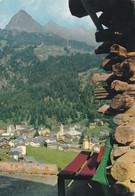 (L490) - CHAMPOLUC (Valle D'Aosta) - Scorcio Panoramico, Sullo Sfondo La Testa Grigia - Aosta