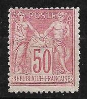 France    N°  98   Neuf  ( * )    ABB            Soldé à Moins De  10 % ! - 1876-1898 Sage (Tipo II)