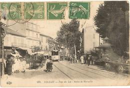 """83 -    TOULON - Pont Du Las - Route De Marseille """"bien Regarder Milieu  51 - Toulon"""